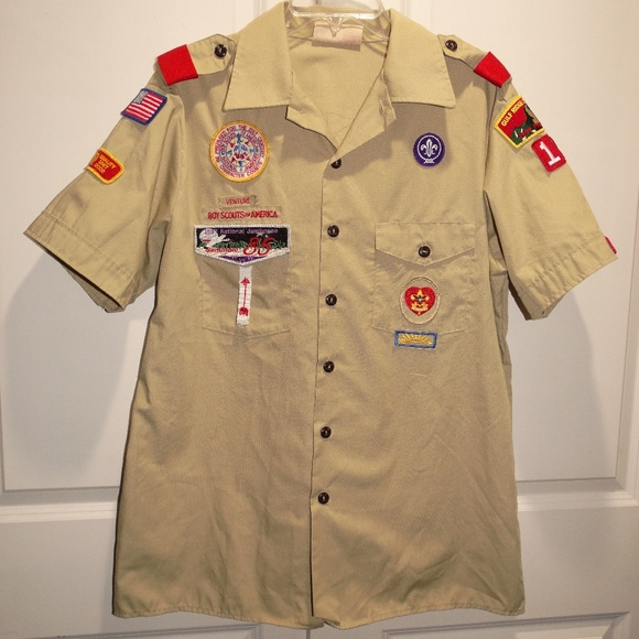 BOY SCOUTS of AMERICA BSA Uniform Shirt Large